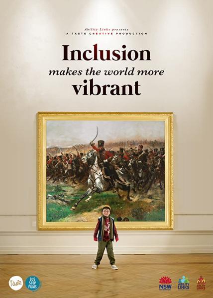 Inclusion Makes the World More Vibrant logo