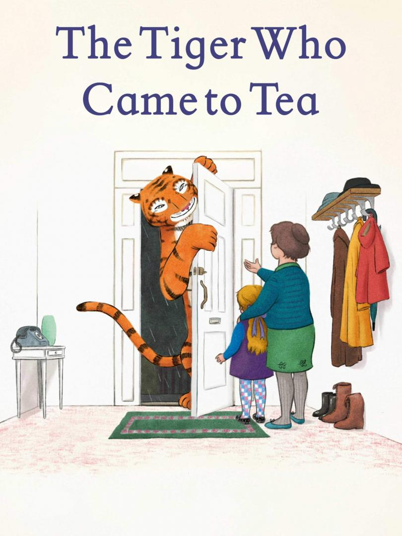 The Tiger Who Came to Tea logo