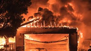 California on Fire logo