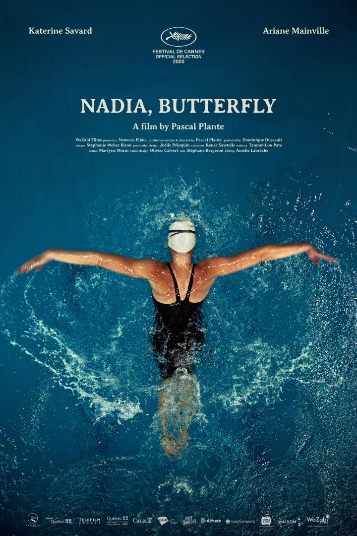 Nadia, Butterfly logo